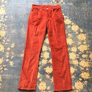 Vintage Dusty Rose Levi's 505 Jeans 28